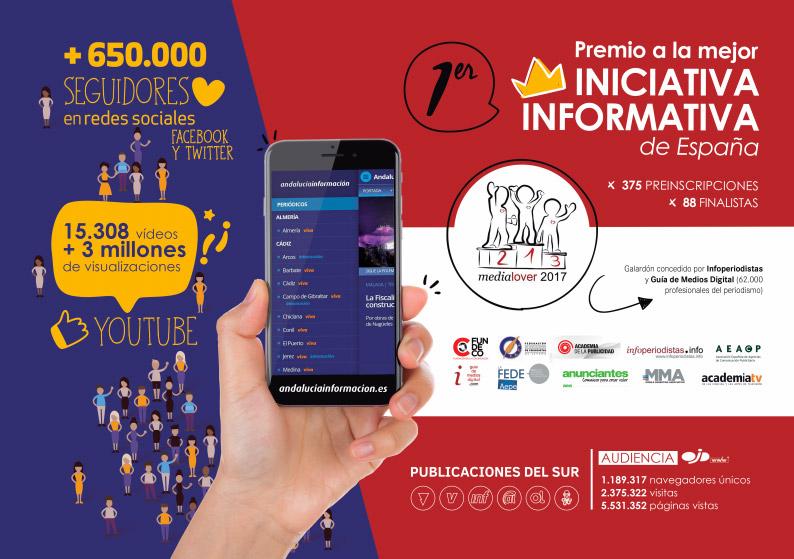 Andalucía Información premio a la mejor iniciativa informativa de España
